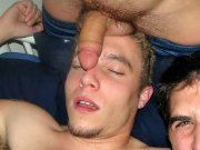 Anal Bangin wid one of their buddies who had passed out