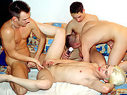 Jocks They are ready to fuck! A cumshot fest for a special party.
