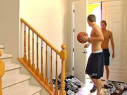 twinks Sporty twinkies done with basketball and come home for a sex romp!