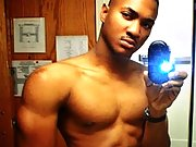Amateur Bunch of hunk dudes are topless taking pics of their body