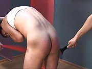 Fetish Ass spanking makes this twink horny and playfull
