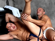 twinks College guys enjoy sex in the dorm
