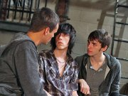 twinks Twinks hot and bloody threesome pounding n blowing