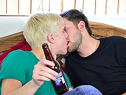 twinks Dumped husband receives help of best friend after getting drunk!