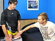 twinks Danny Brooks and Patrick Kennedy are hooking up together for a marvelous hardcore sex scene!