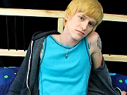 twinks The very cute patrick kennedy is banging this cute and perky blond twink